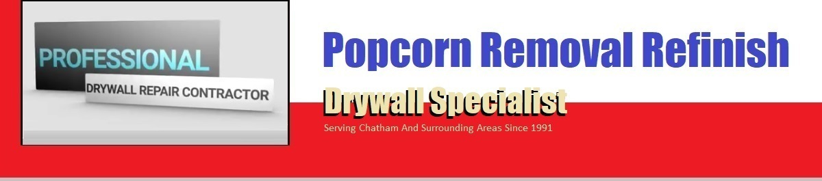Popcorn Texture Removal | Orange County Chapel Hill NC
