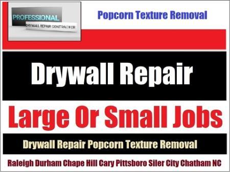 Call 919-742-2030 For Drywall Seam Repair Work - Hire a skilled, highly trained drywall contractor.
